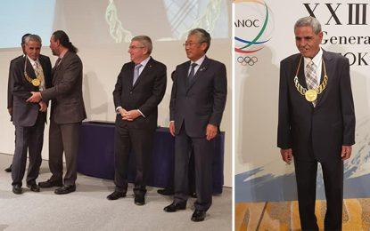 Tokyo : Prix du mérite décerné au Tunisien Mohamed Gammoudi (photos)