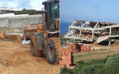 Haouaria : La maison du propriétaire de Tounesna TV démolie légalement