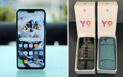 Huawei lance son Y 9 de la gamme 2019 sur le marché tunisien