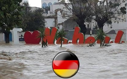 Dispositif allemand d'aide aux sinistrés des inondations en Tunisie