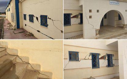 Kalaat Khasba : Bâtie le mois dernier, la salle des sports menace de s'effondrer