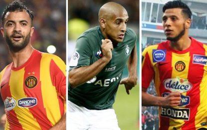 Awards de la CAF 2018 : Chaabani, Badri, Khazri et Khenissi nominés