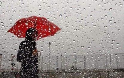 Tunisie : Les  perturbations climatiques vont se prolonger jusqu'à mercredi 30 octobre