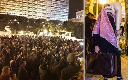 Tunis : Manifestation contre Mohamed Ben Salman (Photos)