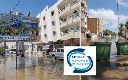 Inondations de Nabeul : Aide des employés de banques au fonds 1818 s'élève à 1,3 MDT