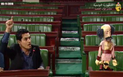 Une marionnette à l'ARP pour remplacer un ministre absent (Vidéo)