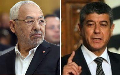 Ghazi Jeribi dépose plainte contre Rached Ghannouchi