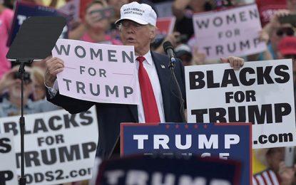 Racisme : Trump traite ses concitoyens noirs de «personnes stupides»