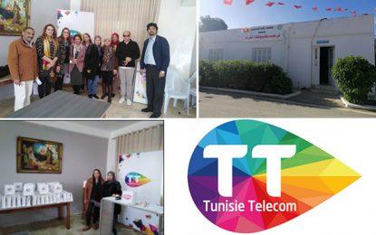 Manouba : Tunisie Telecomallège la solitude des seniors