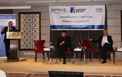 Menaces et opportunités de la transformation numérique en débat à l'Utica