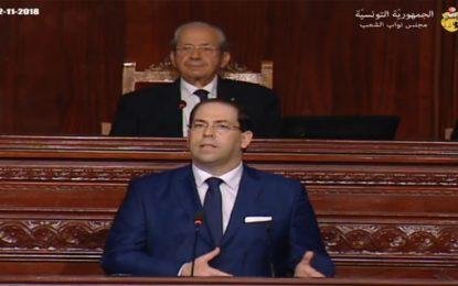 Chahed : Des tirs amis ont tenté d'empêcher le gouvernement d'avancer