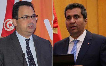 Des députés pour le retrait de confiance aux ministres Maarouf et Ladhari