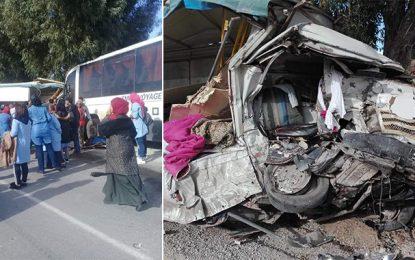 Zaghouan : Un mort et 23 blessés dans un accident de la route