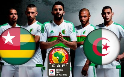 Togo-Algérie : streaming live CAN 2019