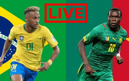 Brésil-Cameroun : streaming live – match amical