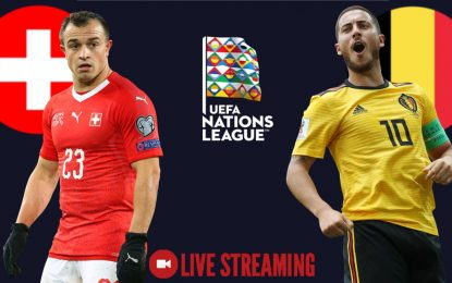 Suisse-Belgique : streaming live – Ligue des nations