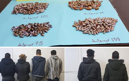 Quatre «mules» arrêtées à l'aéroport de Tunis-Carthage