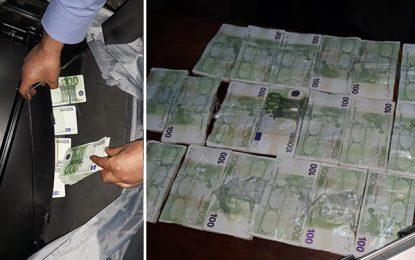 Tunis-Carthage : Un voyageur arrêté en possession illégale de 140.000€