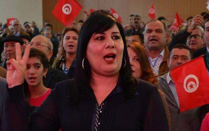 Abir Moussi avertit contre le truquage des élections de 2019