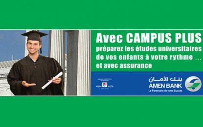 Amen Bank : Campus Plus pour garantir une bourse d'étude à ses enfants