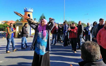 Borj Cedria : Sit-in du personnel de l'hôtel Caraïbes, sans salaire depuis 2 mois