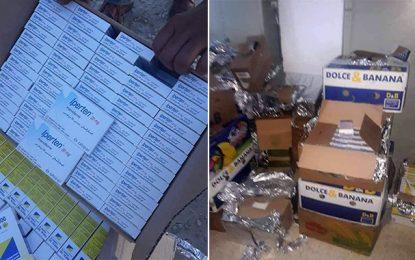 Dhehiba : Saisie de médicaments de contrebande d'une valeur de 21.000 DT