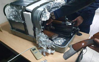 La Goulette : 14 fusils dans la voiture d'un couple tuniso-français (vidéo)