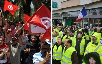Les Gilets jaunes et le risque de contagion en Tunisie
