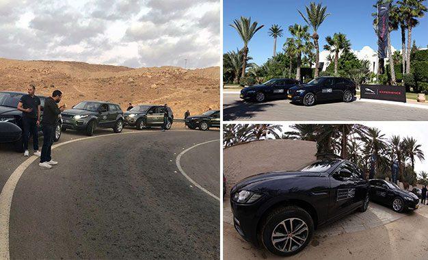 Un cortège de Jaguar, Land Rover et MAN au cœur du désert tunisien (vidéo)