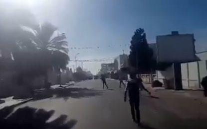 Reprise des heurts entre policiers et manifestants à Jebeniana (vidéo)