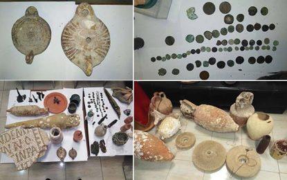 Nabeul : Saisie de 111 pièces archéologiques chez un collectionneur