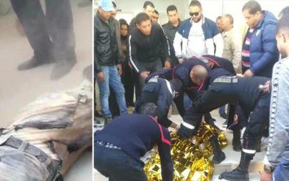 Hajeb Layoun : Un père de famille met le feu à son corps
