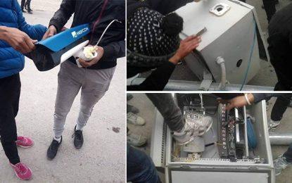 Caméras de de protection saccagées : Cinq suspects arrêtés à Kasserine