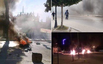 Kasserine : Cinq suspects arrêtés pour «incitation à la violence et aux émeutes»