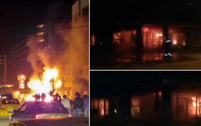 Nabeul : Incendie dans une usine de pièces de rechange de voitures (vidéo)