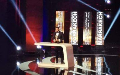 Nidhal Saadi primé au Festival international du film à Marrakech
