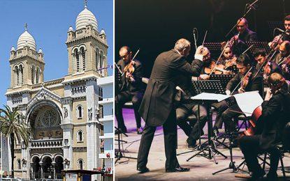 Cathédrale de Tunis : Concert caritatif de l'Orchestre symphonique tunisien