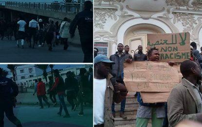 Meurtre de Coulibaly : Manifestation contre le racisme à Tunis (vidéo)