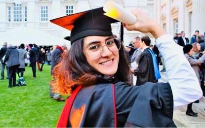 Pour la 1ère fois, une Tunisienne décroche un doctorat de Cambridge