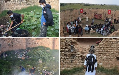 Sidi Bouzid : Des élèves transforment un vieux bassin en théâtre à ciel ouvert