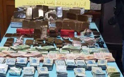 Sousse : Arrestation d'un dealer et saisie de 55 kg de cannabis