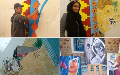 Tatatouine : L'art mural pour promouvoir le tourisme
