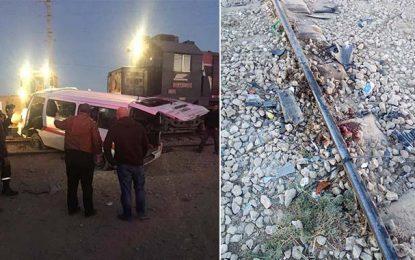 Tozeur : Neuf blessés dans la collision d'un train et d'une voiture de louage