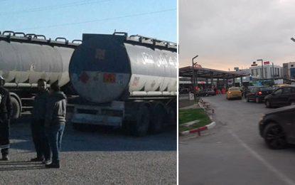 Tunisie : Suspension de la grève des transporteurs de carburant (vidéo)
