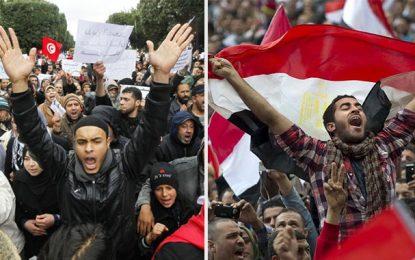 Sondage américain : Les Tunisiens et les Egyptiens broient du noir