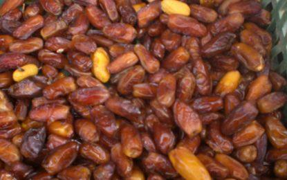 Sidi Thabet : Saisie de 32 tonnes de dattes impropres à la consommation