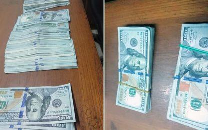Ras Jedir : Un Libyen tente de faire sortir illégalement 35.500 dollars US