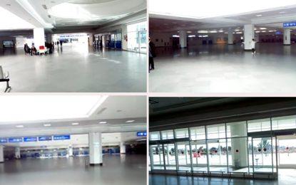 Grève générale : Paralysie totale à l'aéroport de Djerba-Zarzis
