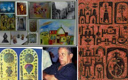 Sidi Bou Saïd : Abdelmajid El Bekri expose à la galerie Saladin