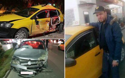 Décès d'un chauffeur de taxi dans un accident à Sousse